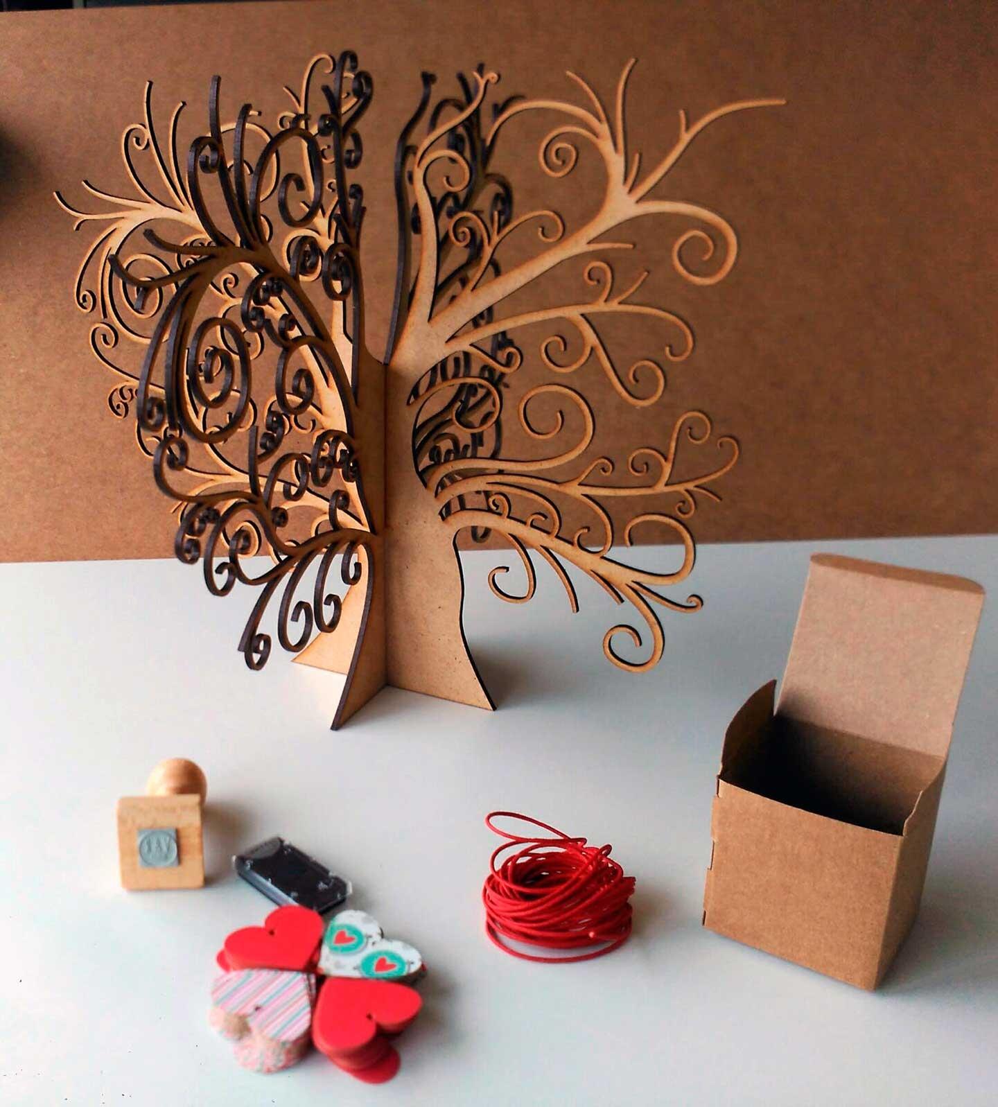 Árbol de firmas en 3D